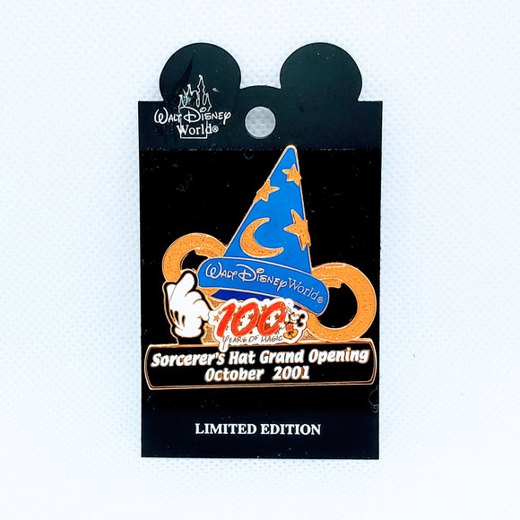 Sorcerer's Hat Grand Opening Pin