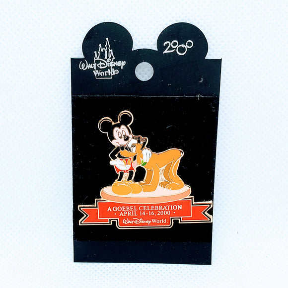 A Goebel Celebration - Mickey and Pluto Pin