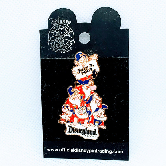 July 4, 2004 - Seven Dwarfs Pin