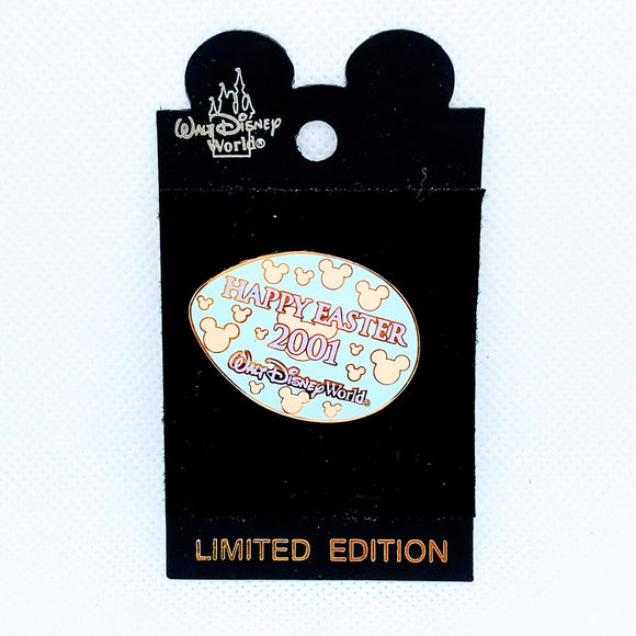 Happy Easter 2001 - Blue Egg Pin