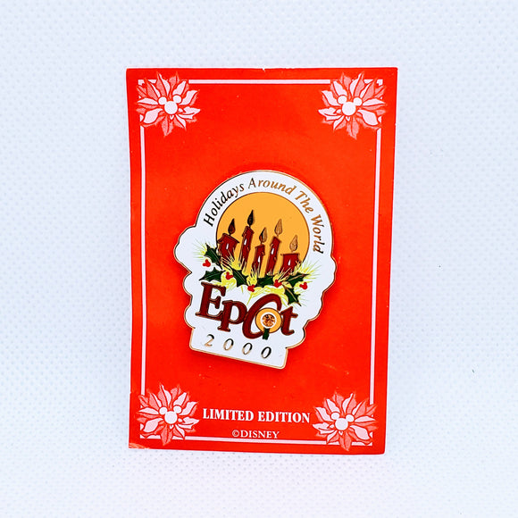 Holidays Around the World - Epcot 2000 Pin