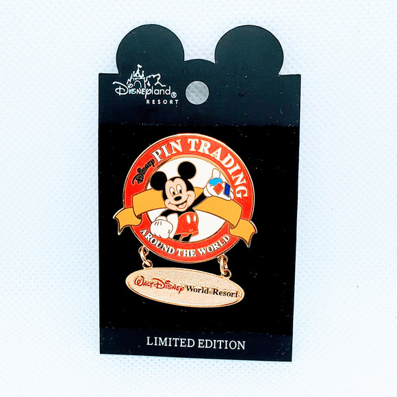 WDW Pin Trading Around The World Pin