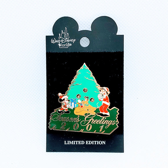 Season's Greetings 2001 Pin