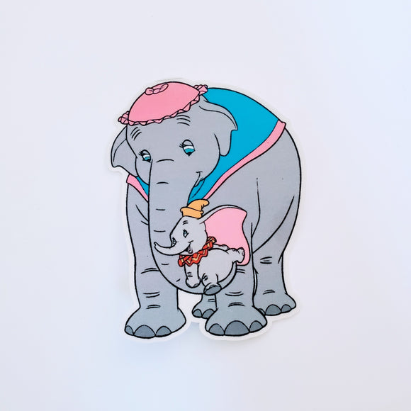 Mrs. Jumbo & Dumbo Sticker