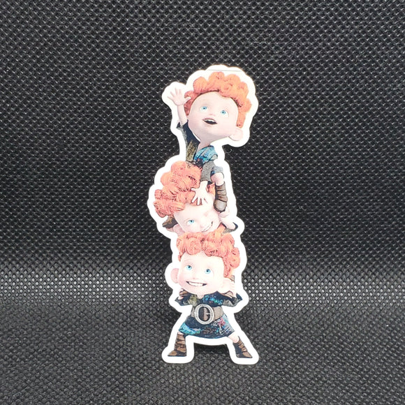 Merida's Brothers Sticker