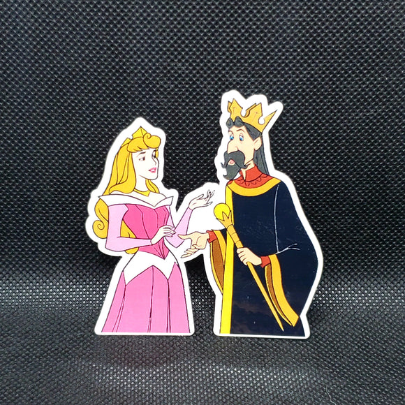 Aurora & King Stefan Sticker