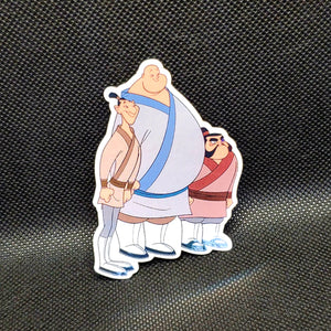 Ling, Yao & Chien-Po Sticker