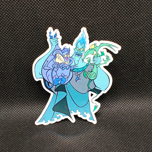 Hades with Pain & Panic Sticker