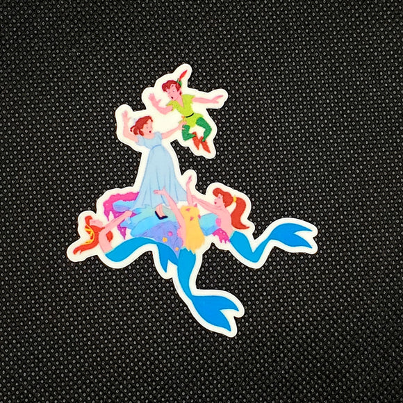 Mermaid Lagoon Sticker