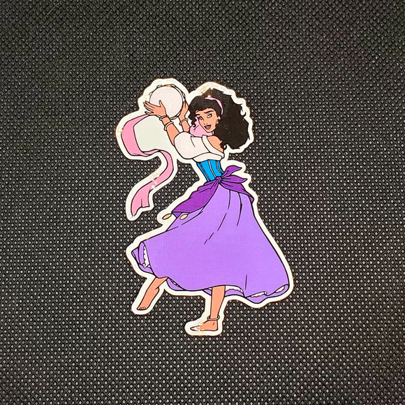 Esmeralda Sticker
