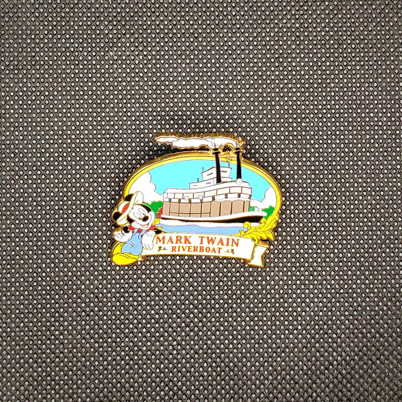 Mark Twain Riverboat Pin