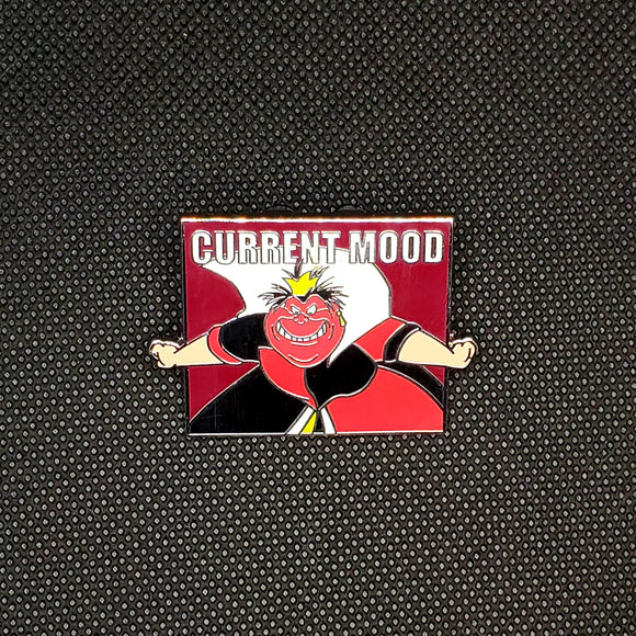 Current Mood - Queen of Hearts Pin