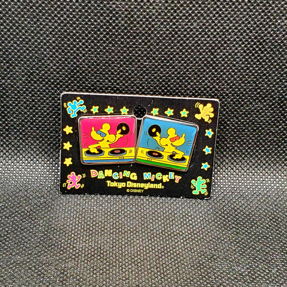 Dancing Mickey 2 Pin Set