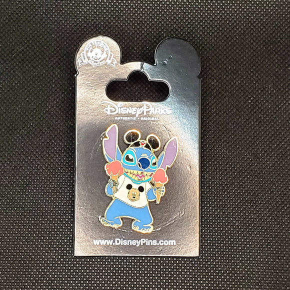Stitch with Ice Cream Pin