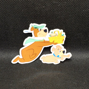 Yogi Bear & Boo Boo Sticker