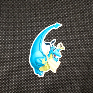 Reluctant Dragon Sticker
