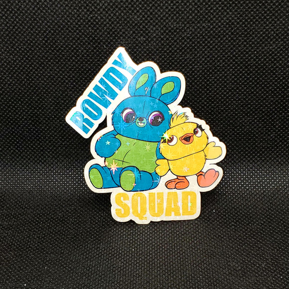 Ducky & Bunny Sticker