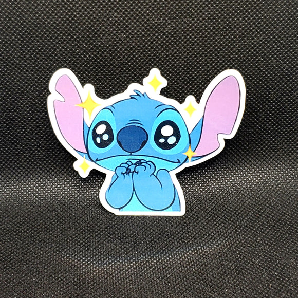 Big-Eyed Stitch Sticker