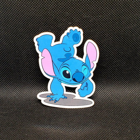 Handstand Stitch Sticker