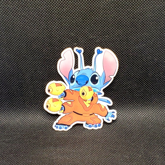 Alien Stitch Sticker