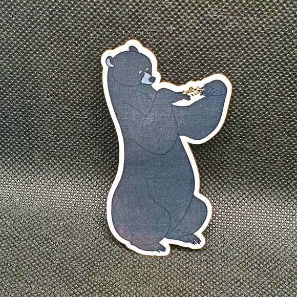 Queen Elinor as a Bear Sticker