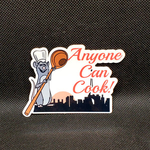 Anyone Can Cook! - Remy Sticker