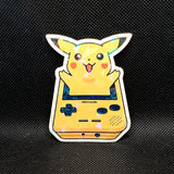 Pikachu Gameboy Sticker