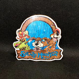 Splash Mountain Sticker