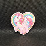 Pink My Little Pony Sticker