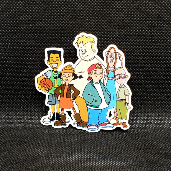 Recess Sticker