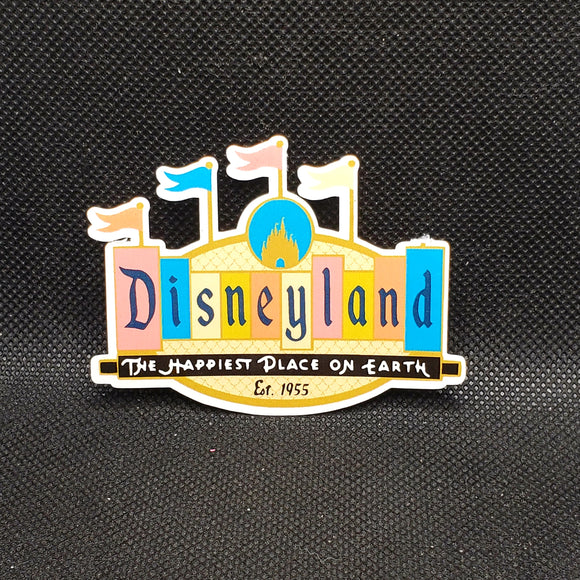 Disneyland Marquee Sticker
