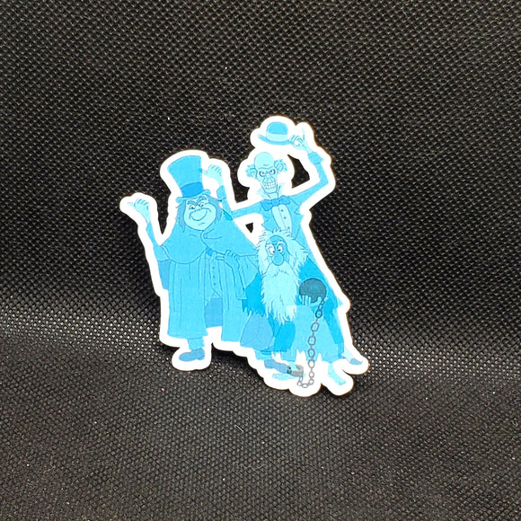 Hitchhiking Ghosts Sticker