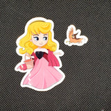 Aurora Toddler Sticker
