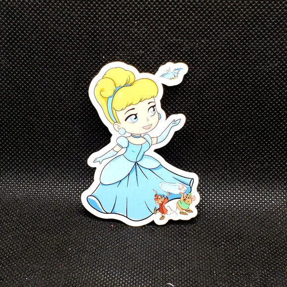 Cinderella Toddler Sticker