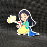 Mulan Toddler Sticker