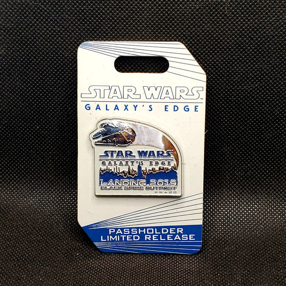 Star Wars Galaxy's Edge - Landing 2019 Pin