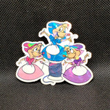Mary, Suzy & Perla Mouse Sticker