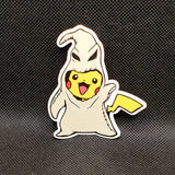 Pikachu as Oogie Boogie Sticker
