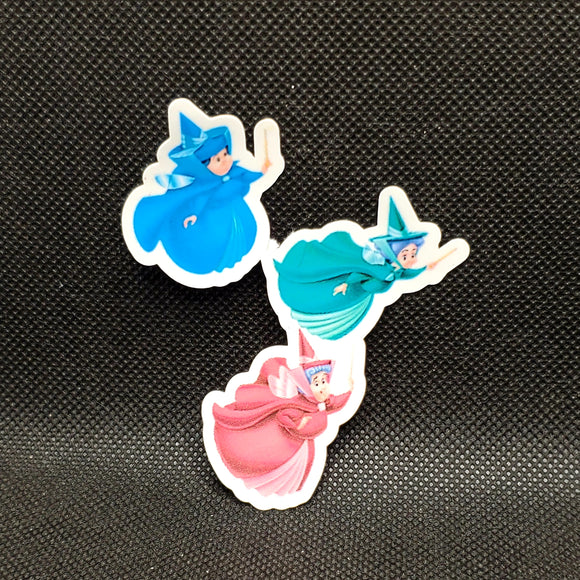 3 Fairy Godmothers Sticker