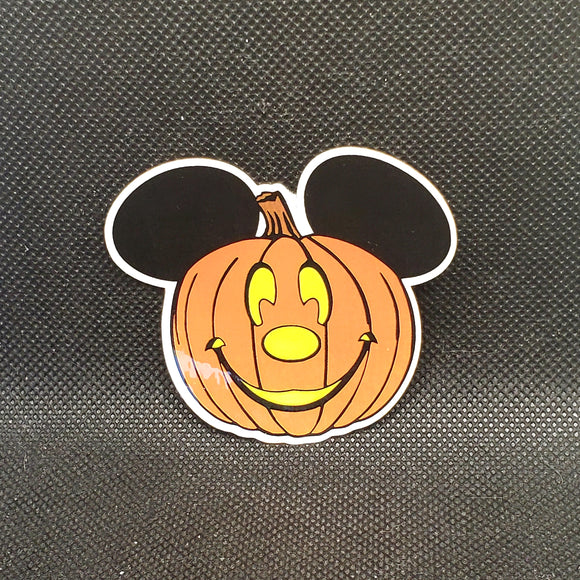 Mickey Pumpkin Sticker