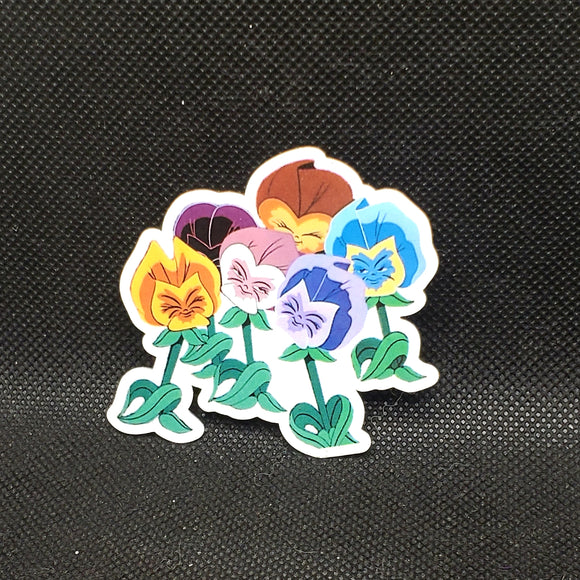 Alice Flowers Sticker