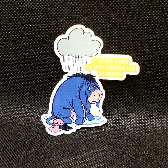 Eeyore Quote Sticker