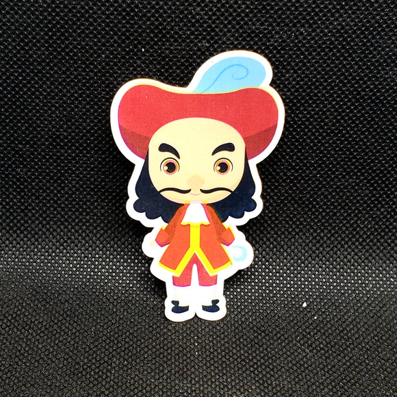 Captain Hook Cutie Sticker