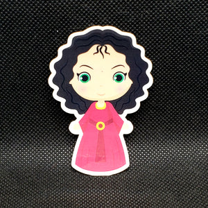 Mother Gothel Cutie Sticker