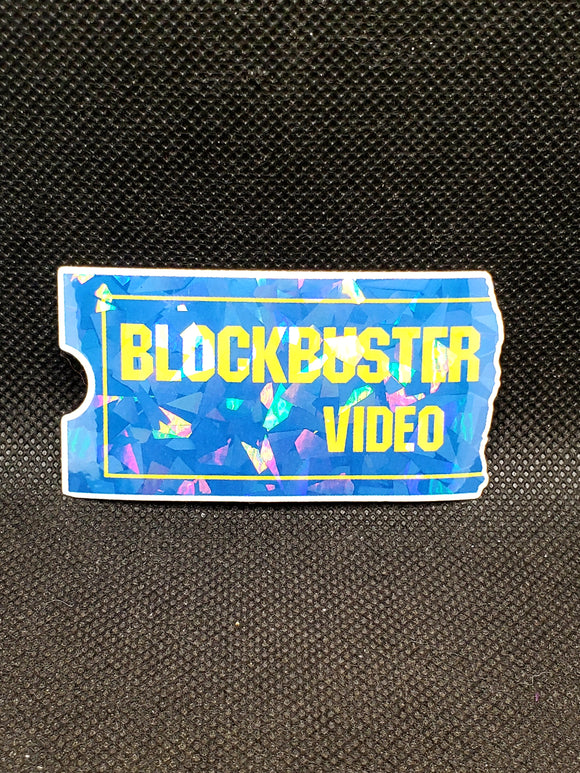 Blockbuster Video Sticker