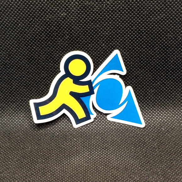 AOL Sticker
