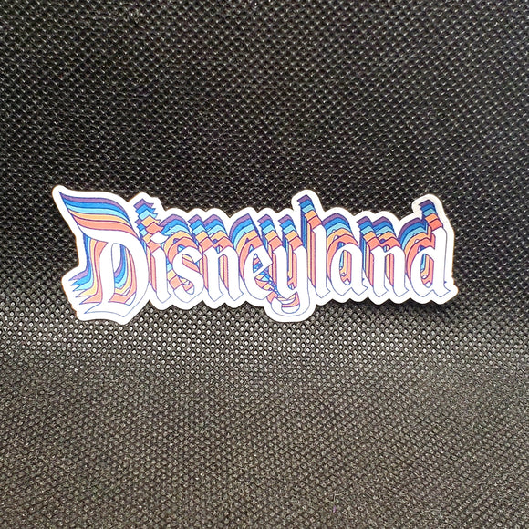 Retro Disneyland Sticker
