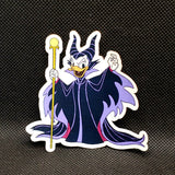 Daisy as Maleficent Sticker