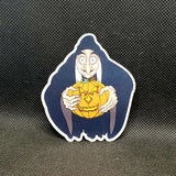 Old Hag with Pumpkin Sticker