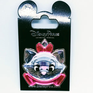 3D Jeweled Marie Pin